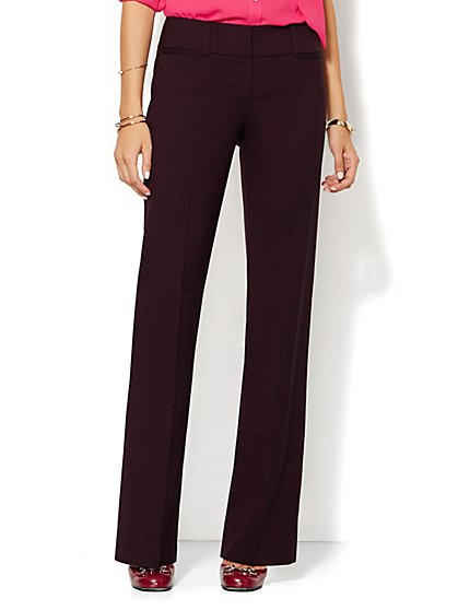 7th Avenue Design Studio Pant - Signature Fit - Bootcut - Petite  - New York & Company