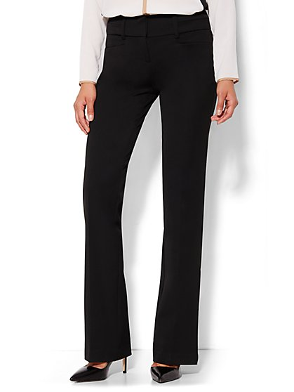 7th Avenue Design Studio Pant - Signature Fit - Bootcut - SuperStretch - Petite - New York & Company