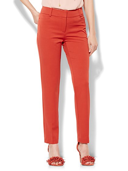 7th Avenue Design Studio Pant - Signature Fit - Slim Ankle - Superstretch  - New York & Company