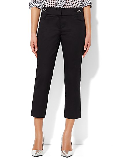 7th Avenue Design Studio Pant - Signature Fit - Slim Crop - New York & Company