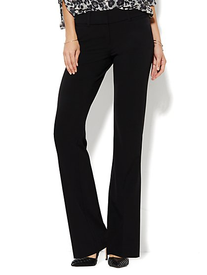 7th Avenue Design Studio Pant - Signature - Universal Fit - Bootcut - Double Stretch - Petite - New York & Company