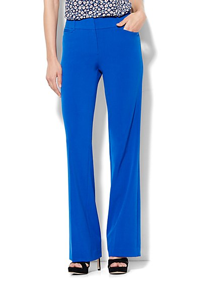 7th Avenue Design Studio Pant - Signature - Universal Fit - Bootcut - Double Stretch - Tall  - New York & Company