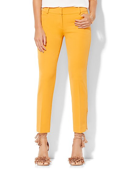 7th Avenue Design Studio Pant - Signature - Universal Fit - Slim Ankle - SuperStretch - New York & Company
