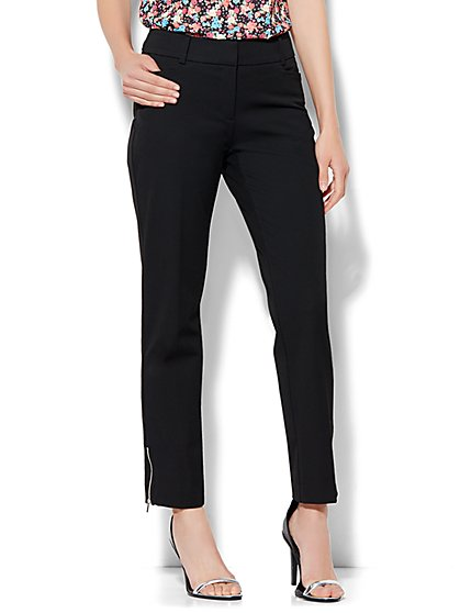 7th Avenue Design Studio Pant - Signature - Universal Fit - Slim Ankle - Superstretch - Tall  - New York & Company