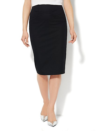 7th Avenue Design Studio - Pencil Skirt - Cotton - New York & Company
