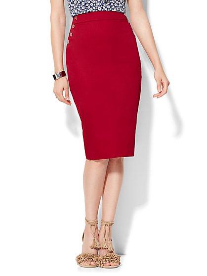 7th Avenue Design Studio Pencil Skirt - Modern Fit - New York & Company