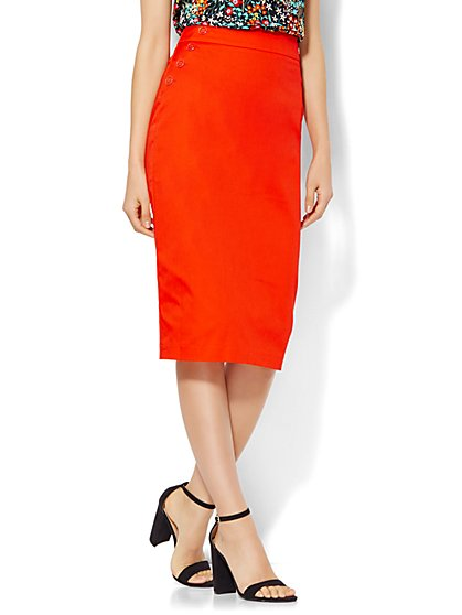 7th Avenue Design Studio Pencil Skirt - Modern Fit - New York & Company