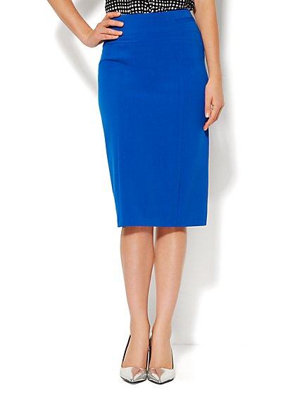 7th Avenue Design Studio - Pencil Skirt - Solid - Petite  - New York & Company