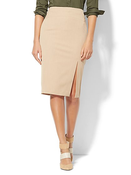 7th Avenue Design Studio Pencil Skirt - SuperStretch - Petite  - New York & Company