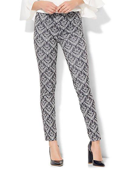 7th Avenue Design Studio Pull-On Slim-Leg Pant - New York & Company
