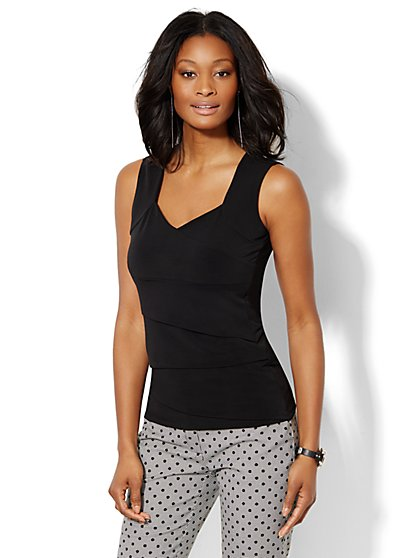 7th Avenue Design Studio - Seamed Top   - New York & Company