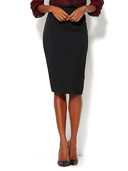 7th Avenue Design Studio - Signature Fit - Pencil Skirt - SuperStretch - New York & Company
