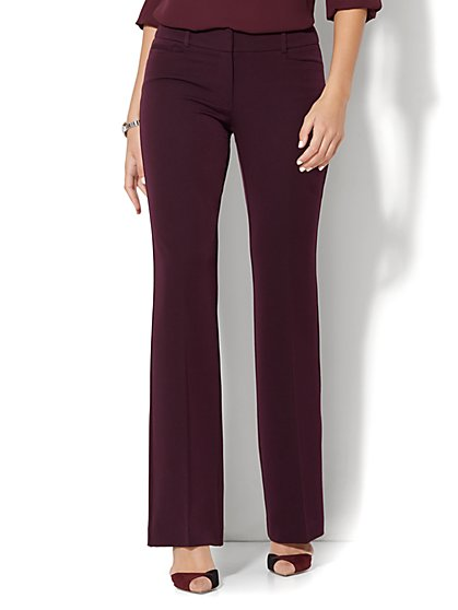 7th Avenue Design Studio - Signature - Universal Fit - Bootcut - SuperStretch - Tall  - New York & Company