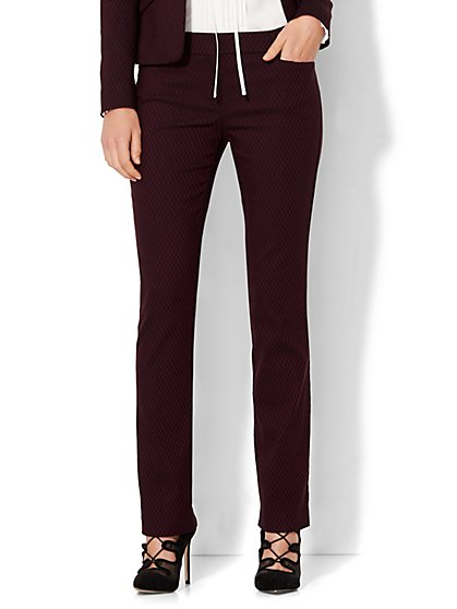 7th Avenue Design Studio - Signature - Universal Fit - Slim-Leg Pant - Diamond - New York & Company