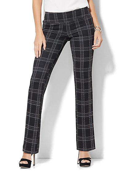 7th Avenue Design Studio - Signature - Universal Fit - Straight-Leg Pull-On Pant - Ponte - New York & Company