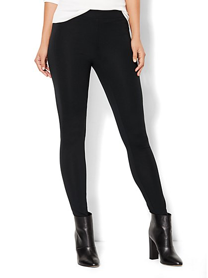 7th Avenue Design Studio - Topstitched Legging  - New York & Company