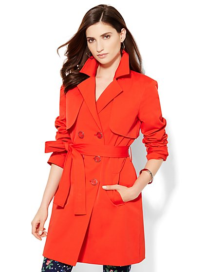 7th Avenue Design Studio - Trench Coat  - New York & Company