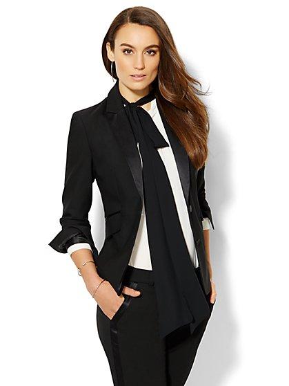 7th Avenue Design Studio Tuxedo Jacket - Modern Fit  - New York & Company
