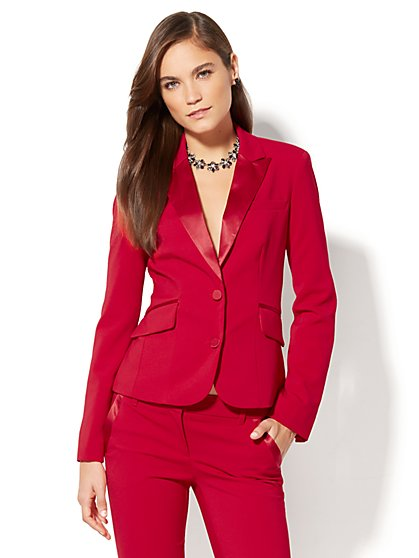 7th Avenue Design Studio Tuxedo Jacket - Petite - New York & Company