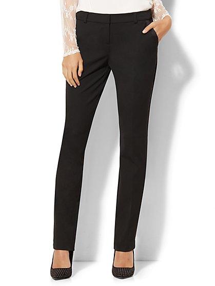7th Avenue Design Studio Tuxedo Pant – Slim-Leg – Modern – Leaner Fit – SuperStretch - New York & Company