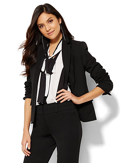 7th Avenue Design Studio Two-Button Jacket - Signature Fit - Superstretch - New York & Company