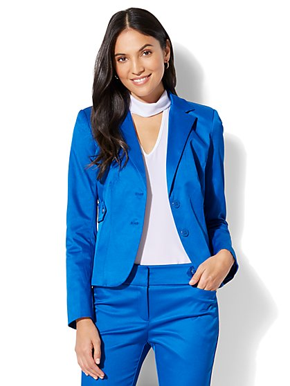 7th Avenue Jacket - Two-Button - Modern - Twill - New York & Company