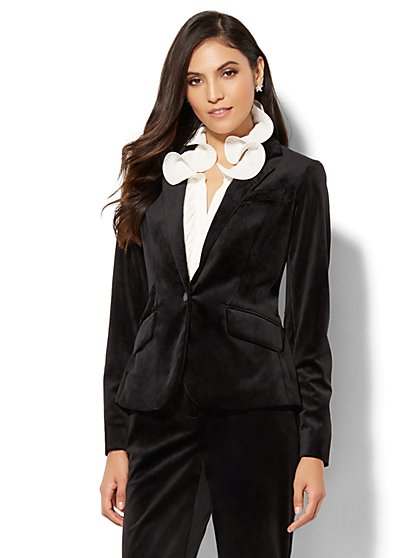 7th Avenue Jacket - Velvet Blazer - New York & Company