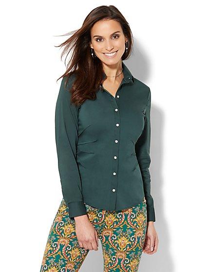 7th Avenue - Madison Stretch Shirt - Seamed - New York & Company