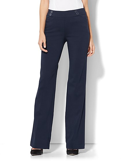 7th Avenue Pant - Bootcut - Modern - Pull-On - Ultra Stretch - New York & Company