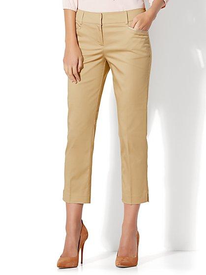 7th Avenue Pant - Crop Straight Leg - Signature Fit - New York & Company