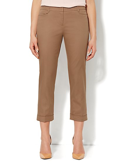 7th Avenue Pant - Cuffed Crop