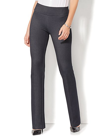 7th Avenue Pant - High-Waist Mini Bootcut - Modern - Pull-On - Ponte - New York & Company