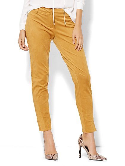 7th Avenue Pant - Legging Fit - Ultrasuede - New York & Company