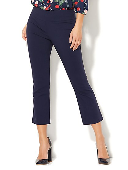 7th Avenue Pant - Pull-On Kick Ankle Pant - Modern - Ultra Stretch - New York & Company