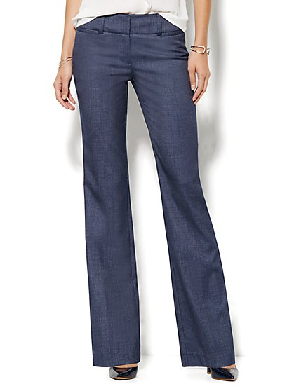 7th Avenue Pant - Signature Fit - Bootcut - Grand Sapphire - Petite - New York & Company