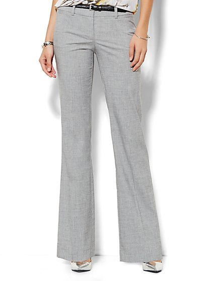 7th Avenue Pant - Signature Fit  - Bootcut - Solid - Petite  - New York & Company
