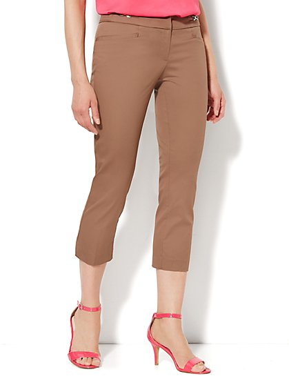 7th Avenue Pant - Signature Fit - Slim Crop - New York & Company