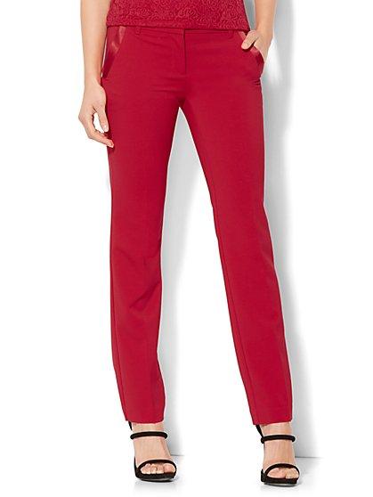 7th Avenue Pant - Slim-Leg - Runway - Tuxedo Pant - New York & Company