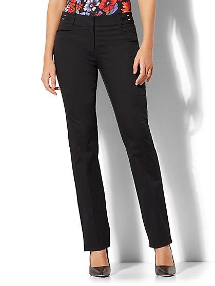 7th Avenue Pant - Straight Leg - Signature - Petite - New York & Company
