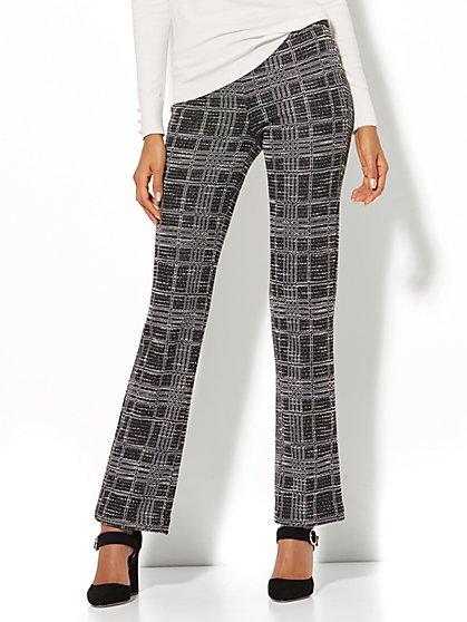 7th Avenue Pant - Straight Leg - Signature - Pull-On - Ponte - New York & Company