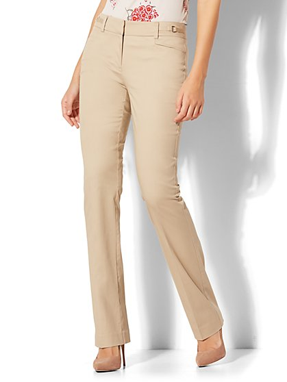 7th Avenue Pant - Straight Leg - Signature - New York & Company