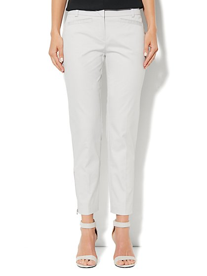 7th Avenue Slim Ankle Pant - Zip Hem - New York & Company