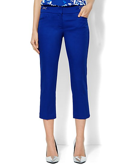 7th Avenue Slim Straight Crop Pant - New York & Company