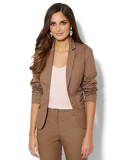 7th Avenue Suiting Collection Jacket - Sateen