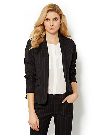 7th Avenue Suiting Collection Jacket - Stripe - New York & Company