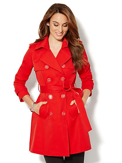7th Avenue Trench Coat - New York & Company