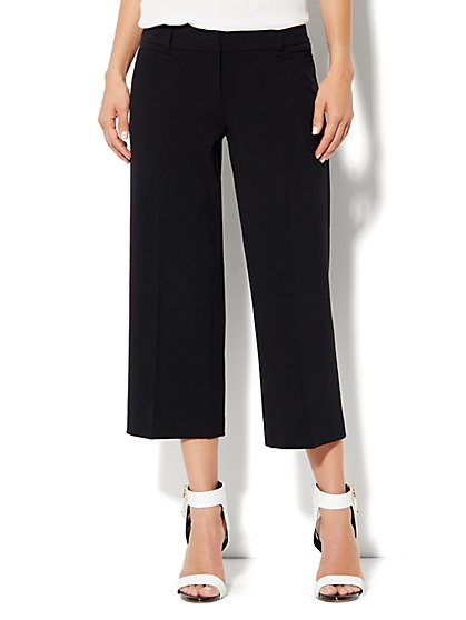 7th Avenue Wide Leg Crop Pant - New York & Company