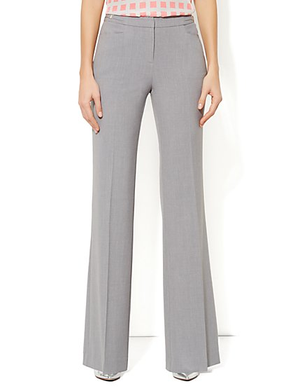 7th Avenue Wide Leg Pant - City Double Stretch - Tall