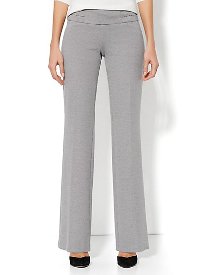 7th Avenue Wide Leg Pant - Pull-On - Dot Print - Average