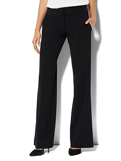 7th Avenue Wide Leg Trouser - Average